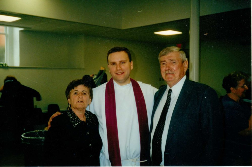 contributions to the tribute of william bill waring wright bear aunt joan and uncle bill nephew rev john manno at his first mass at immaculate conception church in fulton ny 2001